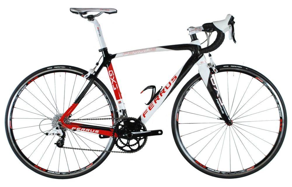 Vélo Ferrus GX3 Rouge - Sram Apex White 10v