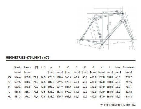 Vélo Look 675 Light - Shimano 105 5800 11v Compact - Shimano RS10 - Super Promo