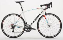 Vélo Look 765 Blanc/Rouge & Bleu Fluo Shimano Ultegra 6800 - Super Promo 2018