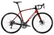 Vélo Look 765 Optimum Disc Black/Red Glossy Shimano 105 Mix - Super Promo 2018