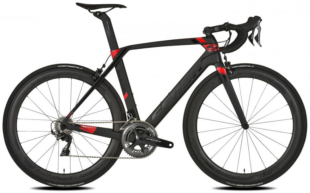 Vélo Sensa Giulia Evo Magic Red Custom Groupe Ultegra 8000 New 2018