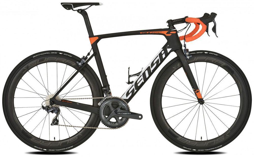 Vélo Sensa Route GiuliAero Matt&Orange - Shimano Ultegra 8000 - New 2018